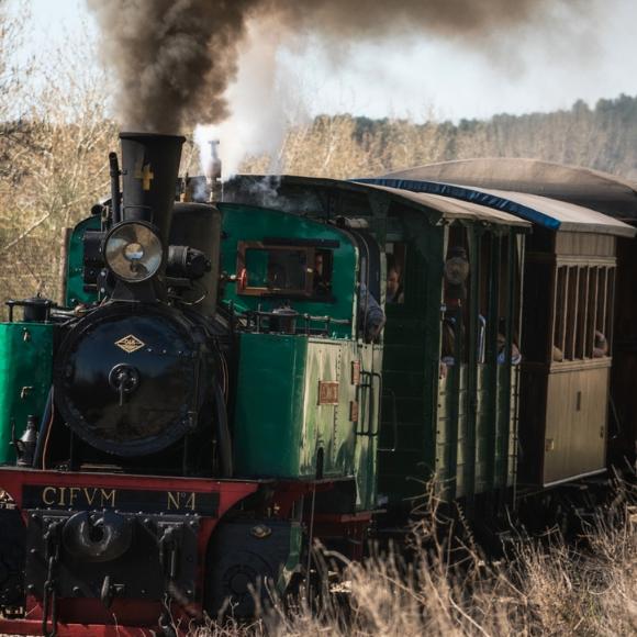 El Tren de Arganda, que ¡pita más que anda!