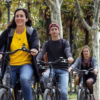Visitar ciudades. Madrid en bici