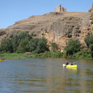 Hoces Duratón en canoa