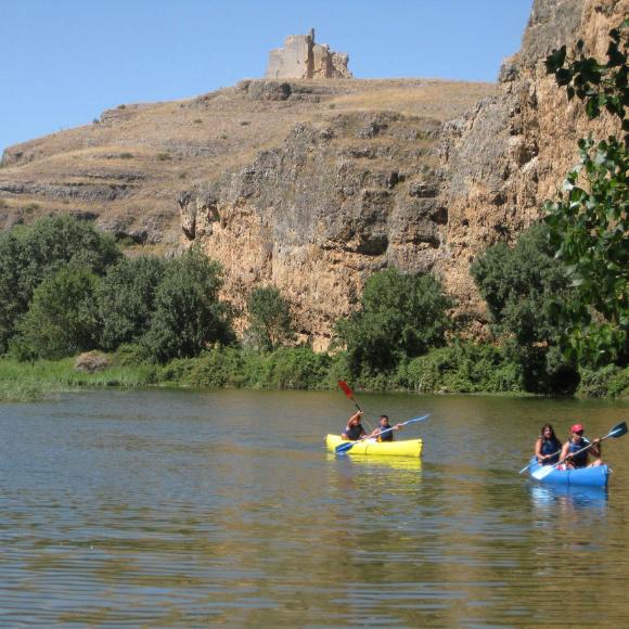 En canoa por las Hoces del Duratón