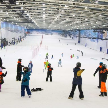 Actividades deportivas para colegios_pista de nieve